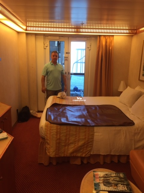 Carnival Miracle French Door Stateroom