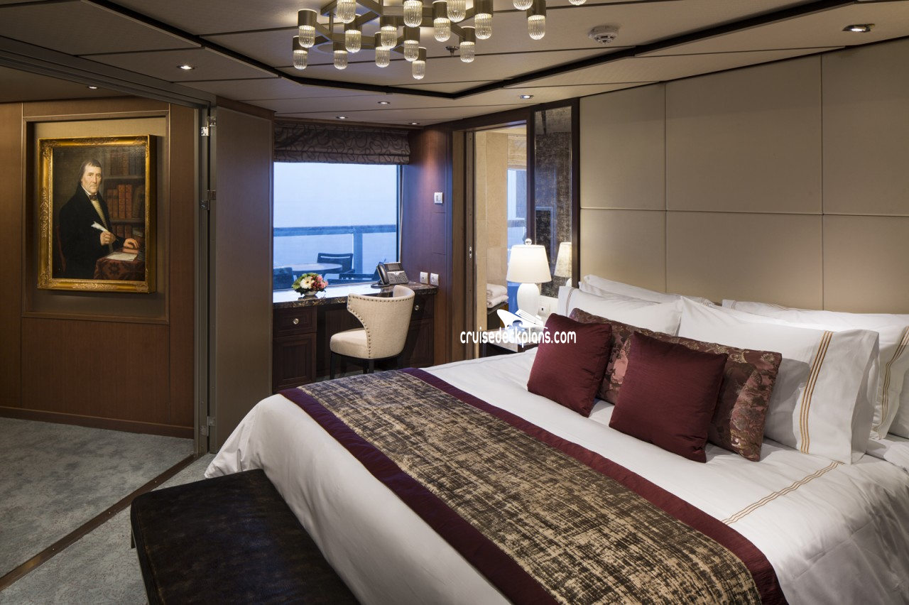 Luxury Bedroom Layout