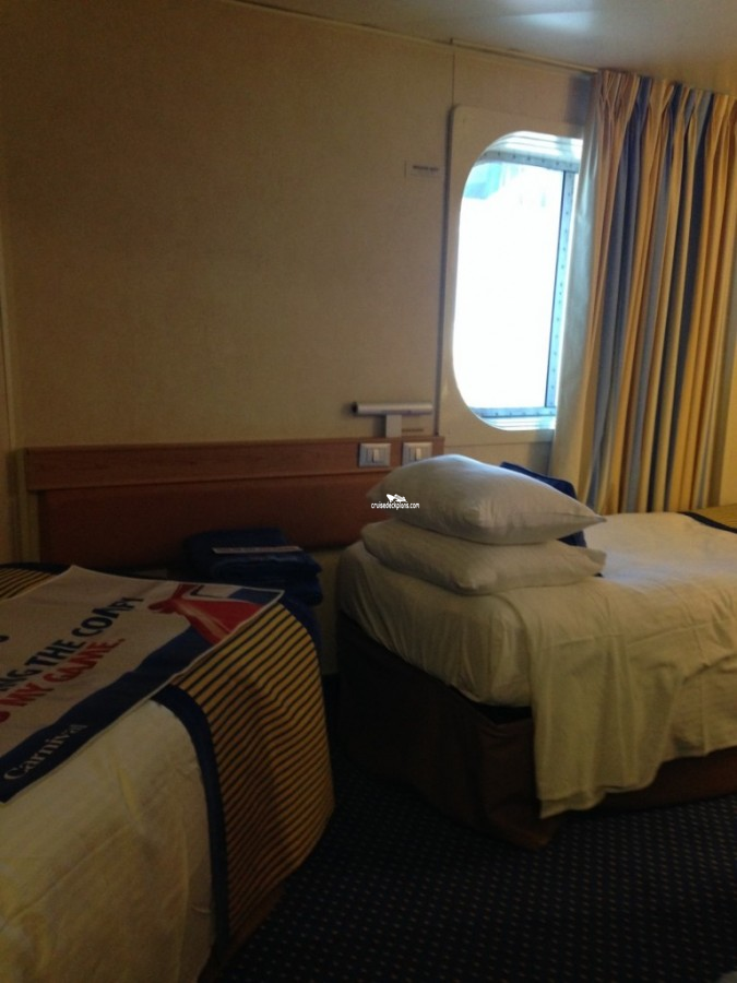 Carnival Sunshine Interior With Picture Window Category