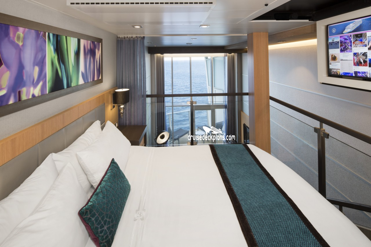 Symphony Of The Seas Crown Loft Suite Details