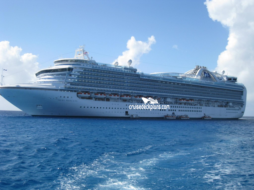 Ruby Princess Exterior Picture