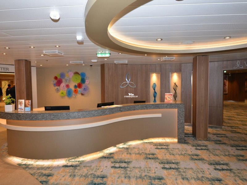 Symphony Of The Seas Vitality At Sea Spa And Fitness Center