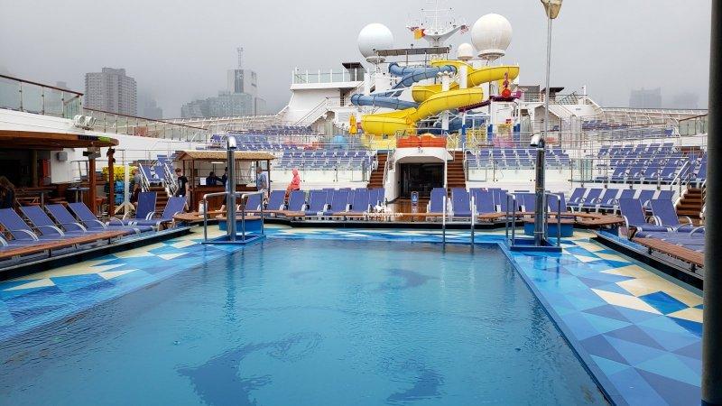 Carnival Sunrise Deck 9 Deck Plan Tour