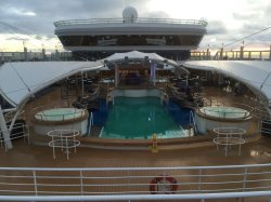 Norwegian Dawn The Oasis Pool anonymous