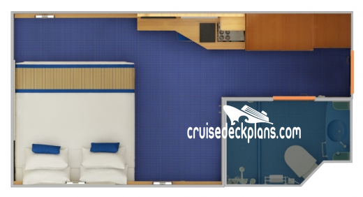 Carnival Radiance Interior Diagram Layout
