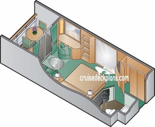 Celebrity Constellation Aqua Class Diagram Layout