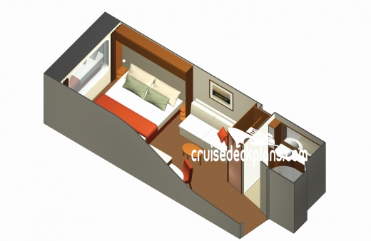 Celebrity Eclipse Oceanview Diagram Layout