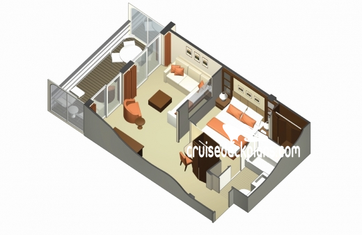 Celebrity Eclipse Celebrity Suite Diagram Layout