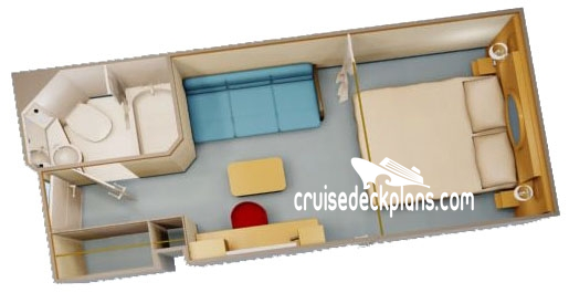 Disney Dream Interior Diagram Layout