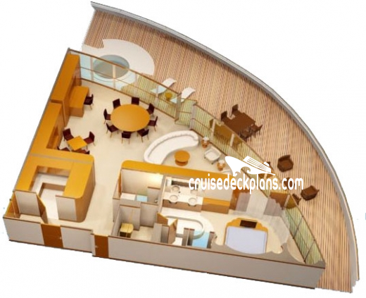 Disney Dream Concierge Royal Suite Diagram Layout