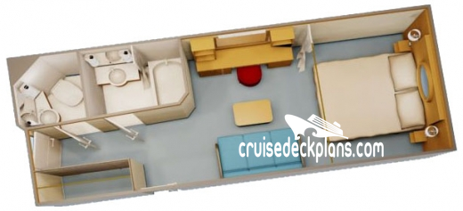 Disney Dream Deluxe Interior Diagram Layout