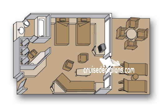 Rotterdam Neptune Suite Diagram Layout