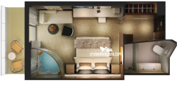 The Haven Spa Suite diagram