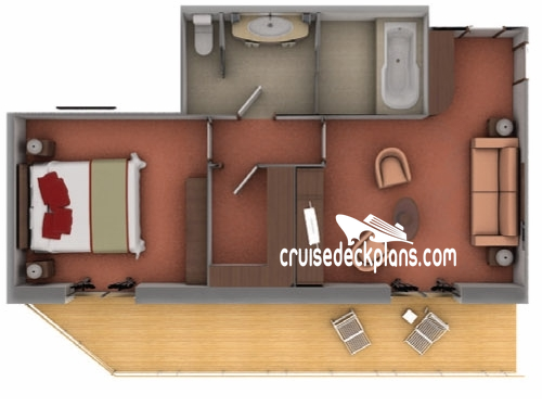 Silver Explorer Owners Suite Diagram Layout