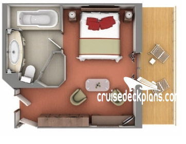 Silver Explorer Medallion Suite Diagram Layout