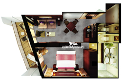 The Haven Penthouse diagram