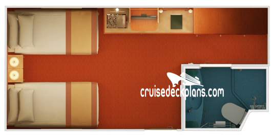 Carnival Freedom Interior Diagram Layout