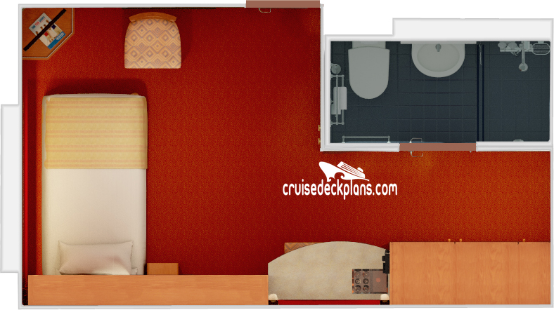Carnival Fantasy Small Interior Diagram Layout